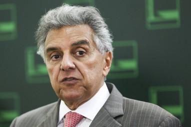 Brasília -  O 1º secretário da mesa diretora da Câmara dos Deputados, Beto Mansur, fala à imprensa após reunião (Marcelo Camargo/Agência Brasil)