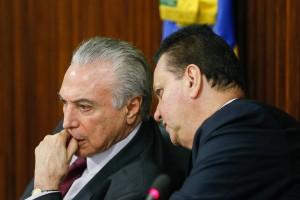 Michel Temer e Gilberto Kassab - Foto: Beto Barata/PR
