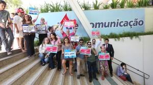 Brasília- DF 02-09-2016  Reunião prototesto dos membros do conselho curador da EBC. Foto Lula Marques/Agência PT