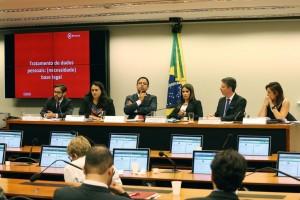 Brasília - Comissão Especial sobre Tratamento e Proteção de Dados Pessoais (PL 4.060/12) promove audiência pública para debater o legítimo interesse.  Créditos: Wilson Dias/Agência Brasil