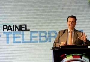 Ex-ministro da Ciência e Tecnologia, Gilberto Kassab participou da abertura do Painel Telebrasil 2018. Créditos: Wilson Dias/Agência Brasil